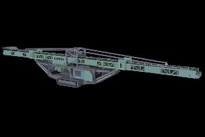 履带式移动皮带输送机