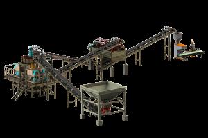 挤压造粒机生产线